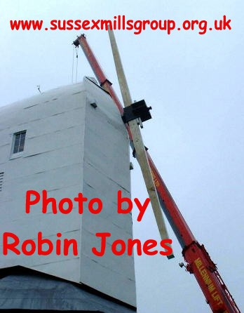 The first Stock in place : photograph - Robin Jones