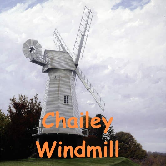 Chailey Windmill print by Clive McBain