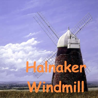 Halnaker Windmill print by Clive McBain