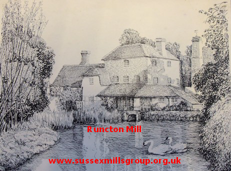 david coward runcton mill drawing