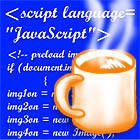 We use Javascript on this web site