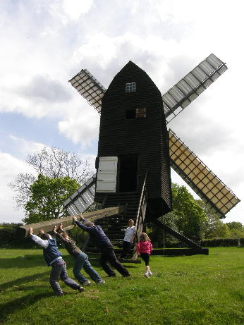 Open Day at Nutley Windmill :  Photo by Nick Linazasoro