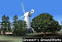 Chailey Windmill - Image by A. J. Pick (Grommits GroundWorks)